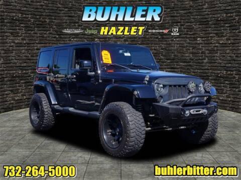 2014 Jeep Wrangler Unlimited for sale at Buhler and Bitter Chrysler Jeep in Hazlet NJ
