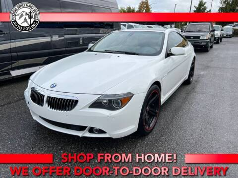 2005 BMW 6 Series for sale at Auto 206, Inc. in Kent WA