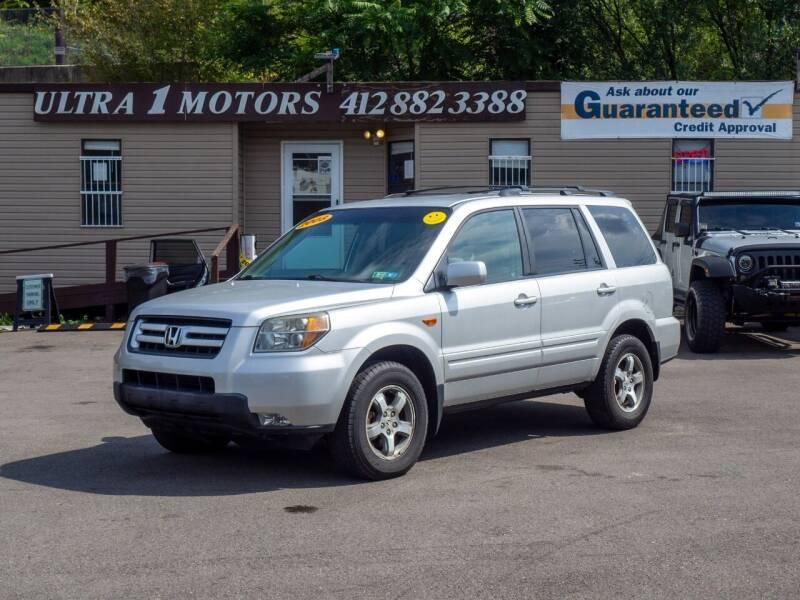2008 Honda Pilot for sale at Ultra 1 Motors in Pittsburgh PA