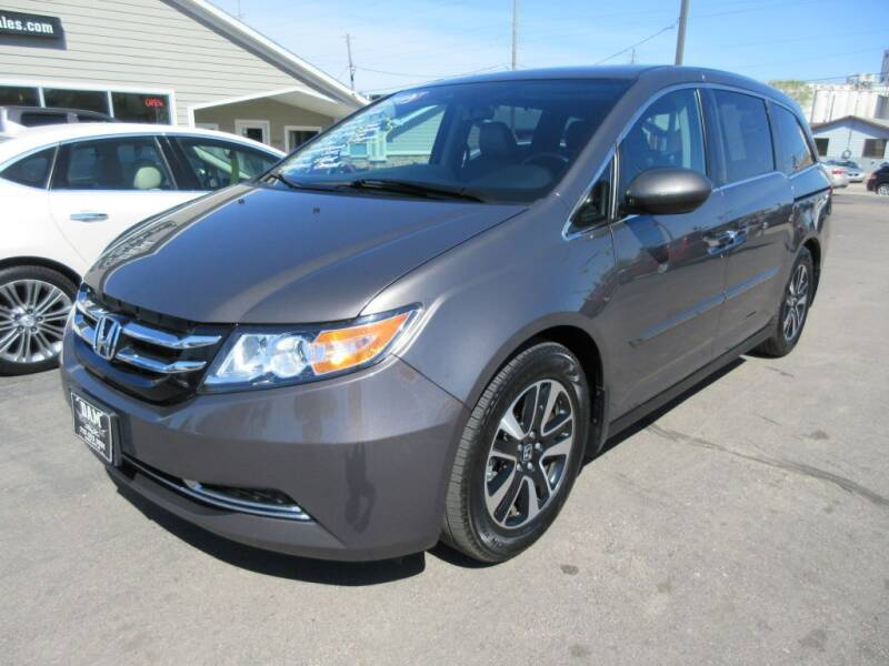 2016 Honda Odyssey for sale at Dam Auto Sales in Sioux City IA