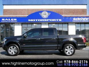2015 Ford F-150 for sale at Highline Group Motorsports in Lowell MA