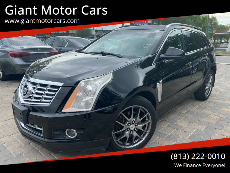 2013 Cadillac SRX for sale at Giant Motor Cars in Tampa FL