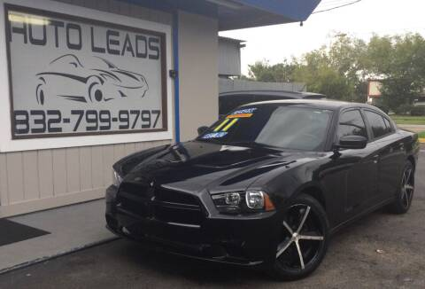 2011 Dodge Charger for sale at AUTO LEADS in Pasadena TX