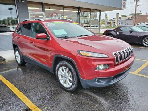 2017 Jeep Cherokee for sale at Stach Auto in Edgerton WI