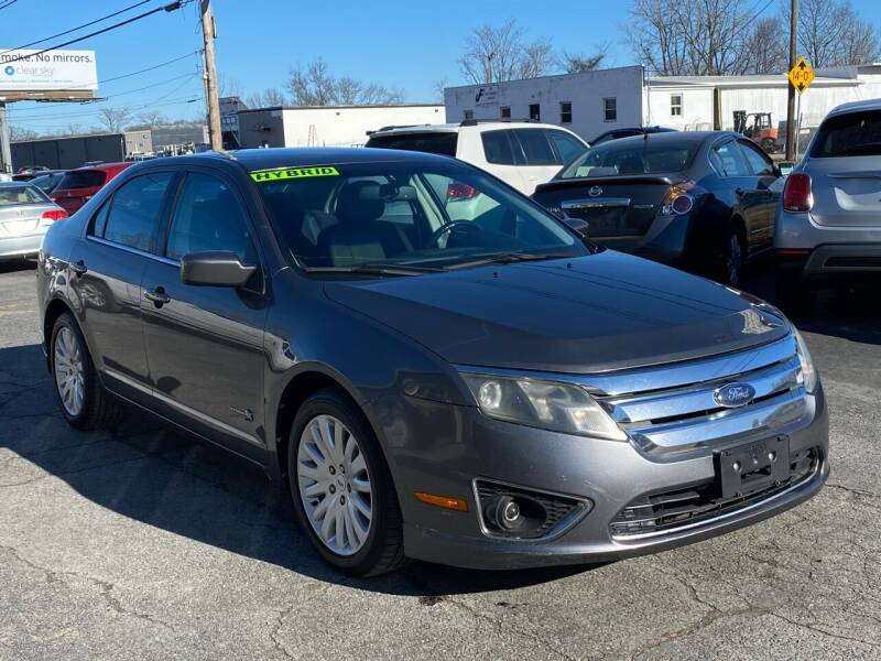 2010 Ford Fusion Hybrid for sale at MetroWest Auto Sales in Worcester MA