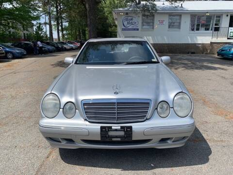 2001 Mercedes-Benz E-Class for sale at MEEK MOTORS in North Chesterfield VA