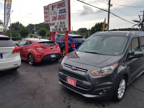 2015 Ford Transit Connect Wagon for sale at 1st Choice Auto Sales in Newport News VA