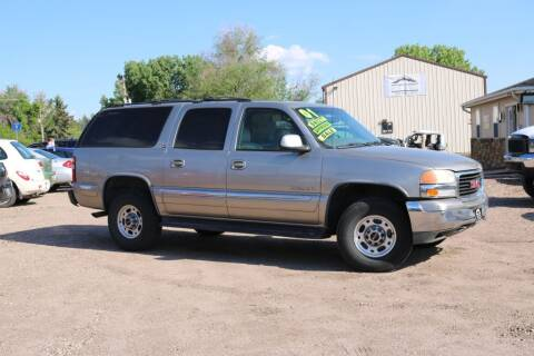 2001 GMC Yukon XL for sale at Northern Colorado auto sales Inc in Fort Collins CO