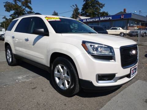 2014 GMC Acadia for sale at All American Motors in Tacoma WA