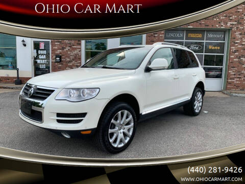 2010 Volkswagen Touareg for sale at Ohio Car Mart in Elyria OH