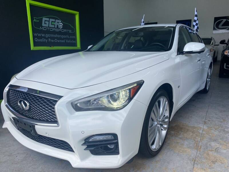 2017 Infiniti Q50 for sale at GCR MOTORSPORTS in Hollywood FL