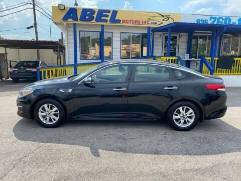 2016 Kia Optima for sale at Abel Motors, Inc. in Conroe TX
