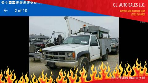 1999 Chevrolet C/K 3500 Series for sale at C.J. AUTO SALES llc. in San Antonio TX