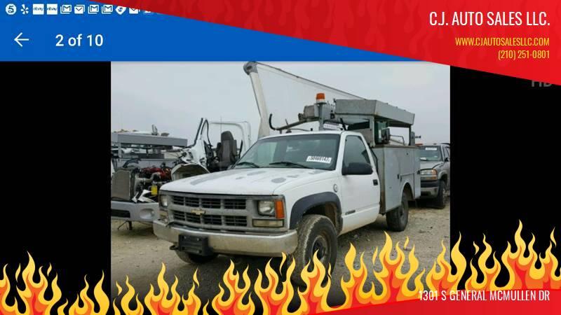 1999 Chevrolet C/K 3500 Series for sale at C.J. AUTO SALES llc. in San Antonio TX