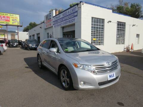 2010 Toyota Venza for sale at Nile Auto Sales in Denver CO