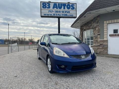 2009 Honda Fit for sale at 83 Autos in York PA