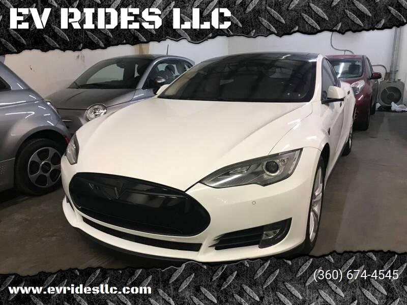 2014 Tesla Model S for sale at EV RIDES LLC in Portland OR