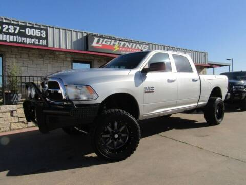 2013 RAM Ram Pickup 2500 for sale at Lightning Motorsports in Grand Prairie TX