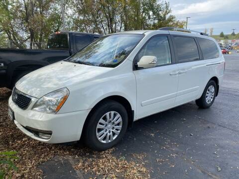 2014 Kia Sedona for sale at NEUVILLE CHEVY BUICK GMC in Waupaca WI