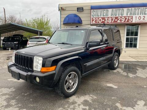 2006 Jeep Commander for sale at Silver Auto Partners in San Antonio TX
