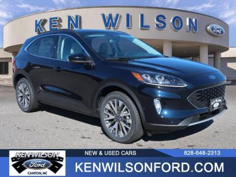 2021 Ford Escape Hybrid for sale at Ken Wilson Ford in Canton NC