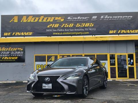 2019 Lexus LS 500 for sale at A MOTORS SALES AND FINANCE - 5630 San Pedro Ave in San Antonio TX