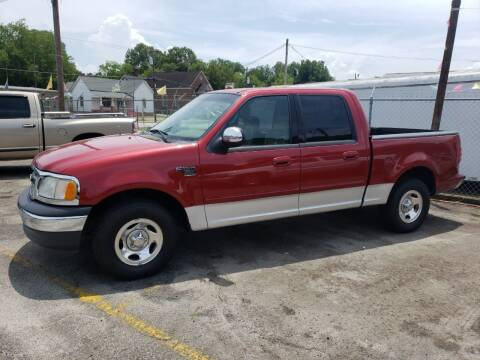 2001 Ford F-150 for sale at A-1 Auto Sales in Anderson SC