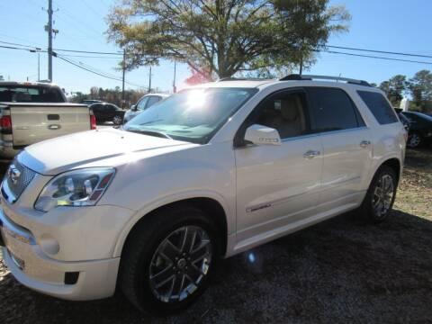 2012 GMC Acadia for sale at Dallas Auto Mart in Dallas GA