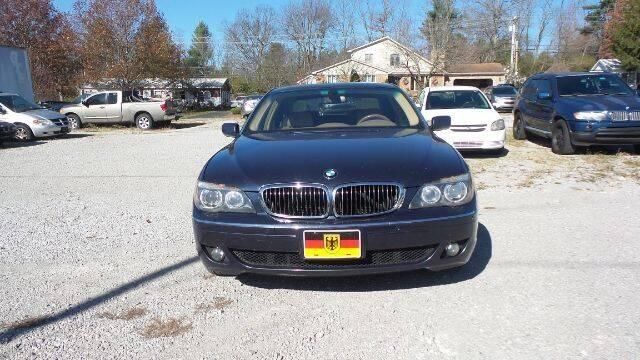 2007 BMW 7 Series 750Li 4dr Sedan - Nicholasville KY