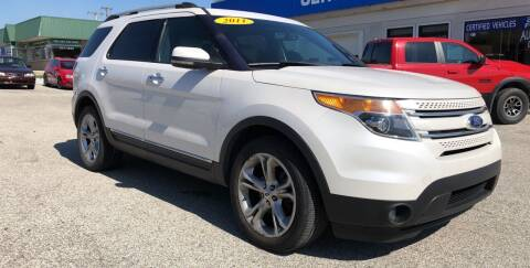2011 Ford Explorer for sale at Perrys Certified Auto Exchange in Washington IN