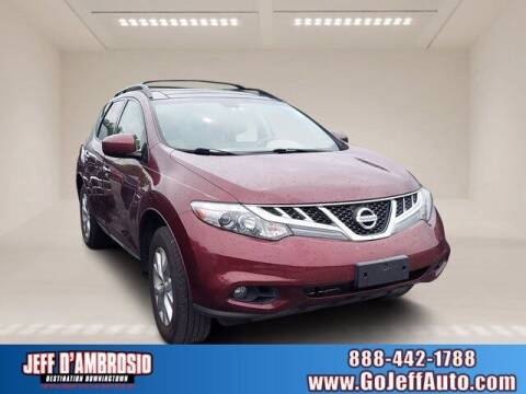 2012 Nissan Murano for sale at Jeff D'Ambrosio Auto Group in Downingtown PA