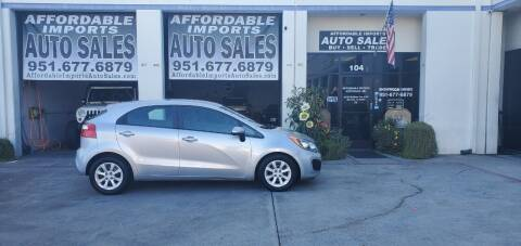 2013 Kia Rio 5-Door for sale at Affordable Imports Auto Sales in Murrieta CA