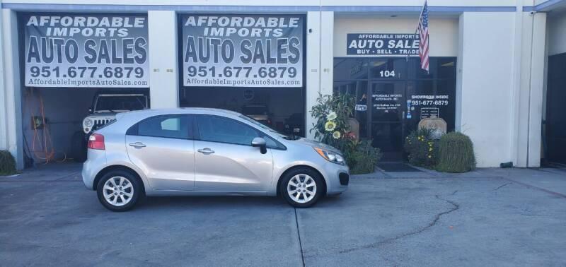 2013 Kia Rio 5-Door for sale at Affordable Imports Auto Sales in Murrieta CA