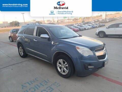 2012 Chevrolet Equinox for sale at DAVID McDAVID HONDA OF IRVING in Irving TX