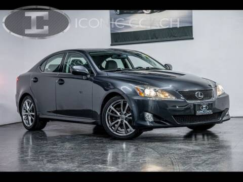 2008 Lexus IS 250 for sale at Iconic Coach in San Diego CA