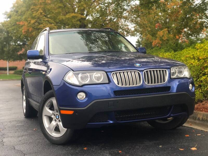 2007 BMW X3 for sale at William D Auto Sales in Norcross GA