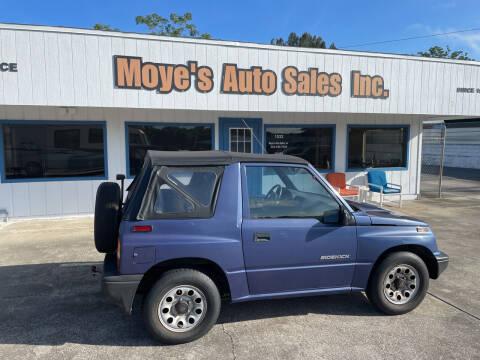 1997 Suzuki Sidekick for sale at Moye's Auto Sales Inc. in Leesburg FL