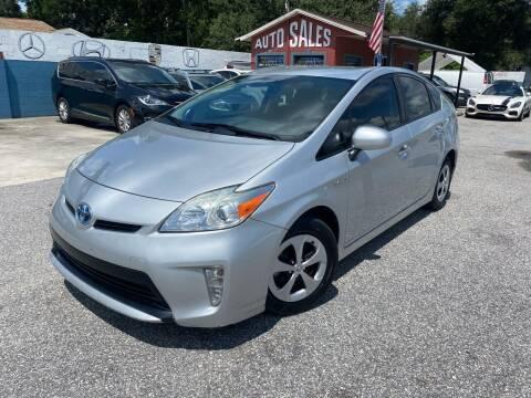 2015 Toyota Prius for sale at CHECK AUTO, INC. in Tampa FL