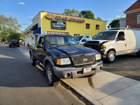 2003 Ford Ranger for sale at Bel Air Auto Sales in Milford CT