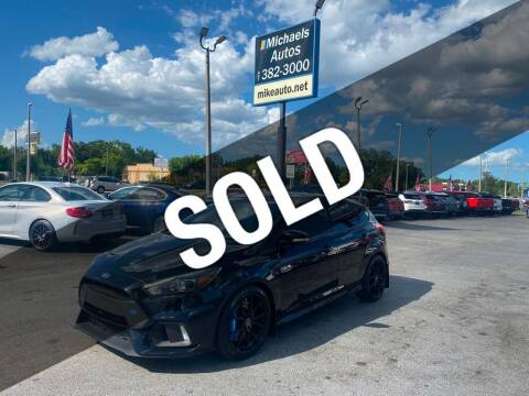 2017 Ford Focus for sale at Michaels Autos in Orlando FL