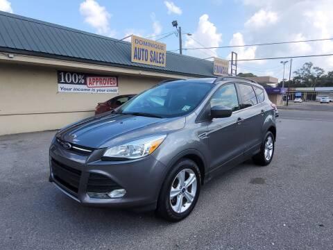 2014 Ford Escape for sale at Dominique Auto Sales in Opelousas LA