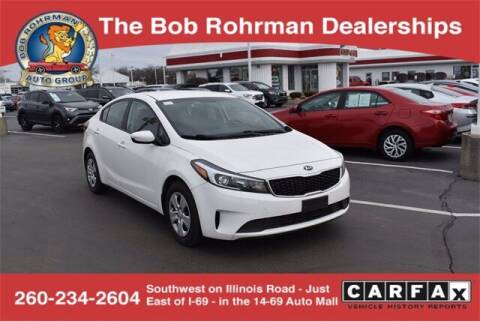 2017 Kia Forte for sale at BOB ROHRMAN FORT WAYNE TOYOTA in Fort Wayne IN