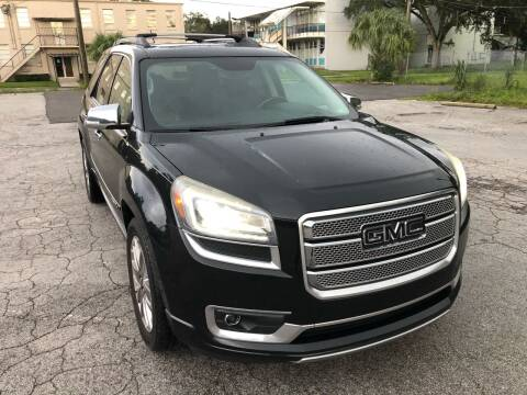 2013 GMC Acadia for sale at Consumer Auto Credit in Tampa FL