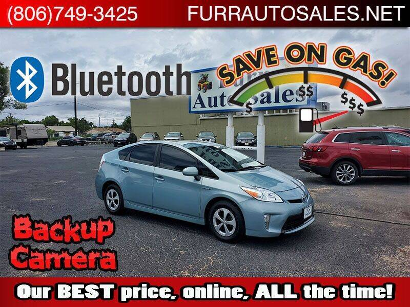 2015 Toyota Prius for sale at FURR AUTO SALES in Lubbock TX