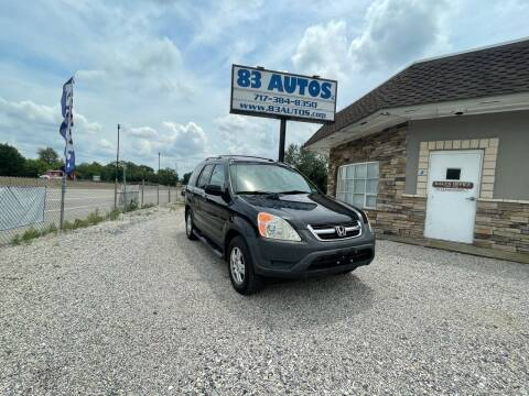 2004 Honda CR-V for sale at 83 Autos in York PA