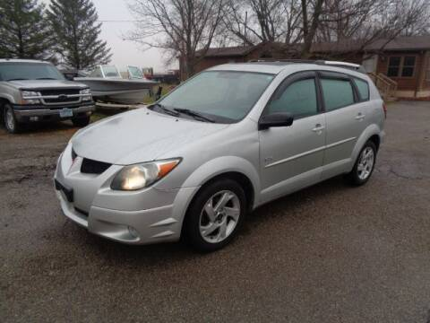 2004 Pontiac Vibe for sale at COUNTRYSIDE AUTO INC in Austin MN