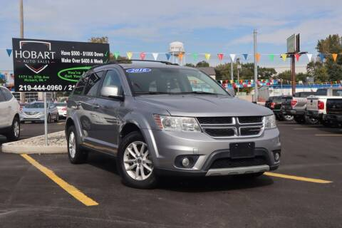 2016 Dodge Journey for sale at Hobart Auto Sales in Hobart IN