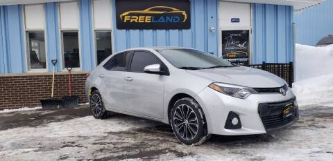 2015 Toyota Corolla for sale at Freeland LLC in Waukesha WI