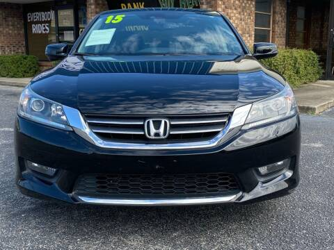 2015 Honda Accord for sale at East Carolina Auto Exchange in Greenville NC