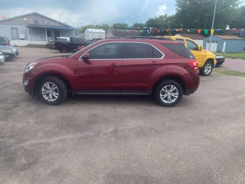 2016 Chevrolet Equinox for sale at Los Arreglados Auto Sales in Worthington MN